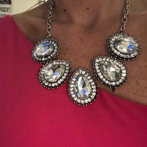 Bold rhinestone jewelry